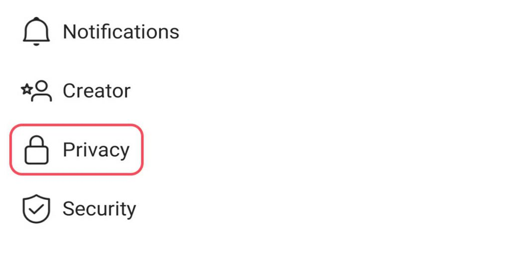 پنهان شدن وضعیت فعالیت در اینستاگرام (privacy)